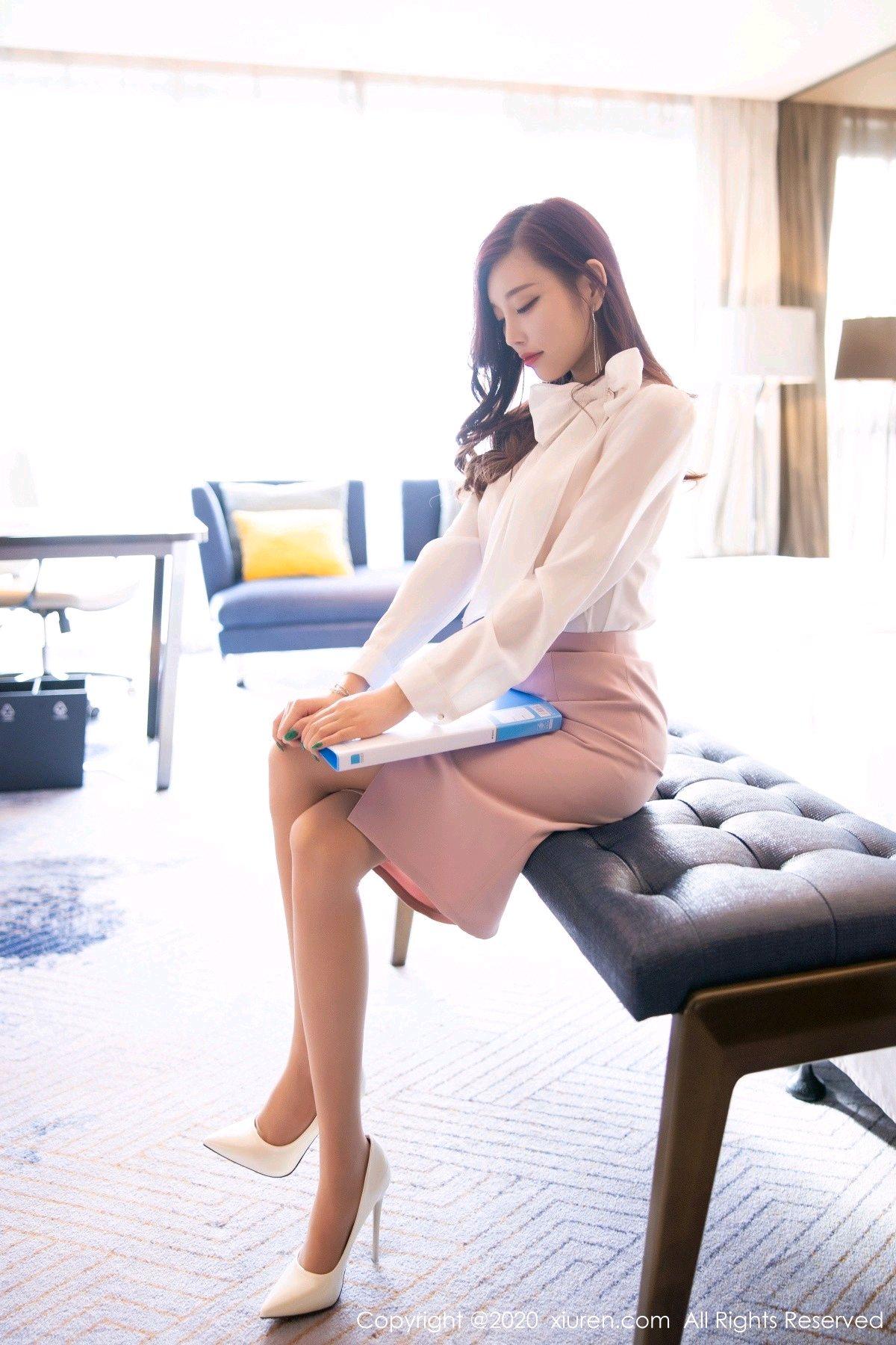 [XiuRen] Vol.2431 Yang Chen Chen 7P, Tall, Underwear, Uniform, Xiuren, Yang Chen Chen
