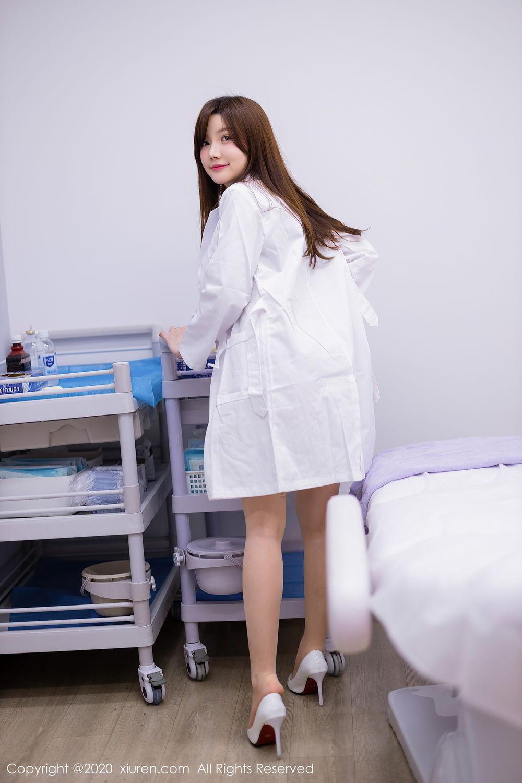 [XiuRen] Vol.2434 Nuo Mei Zi 12P, Mini Da Meng Meng, Underwear, Xiuren