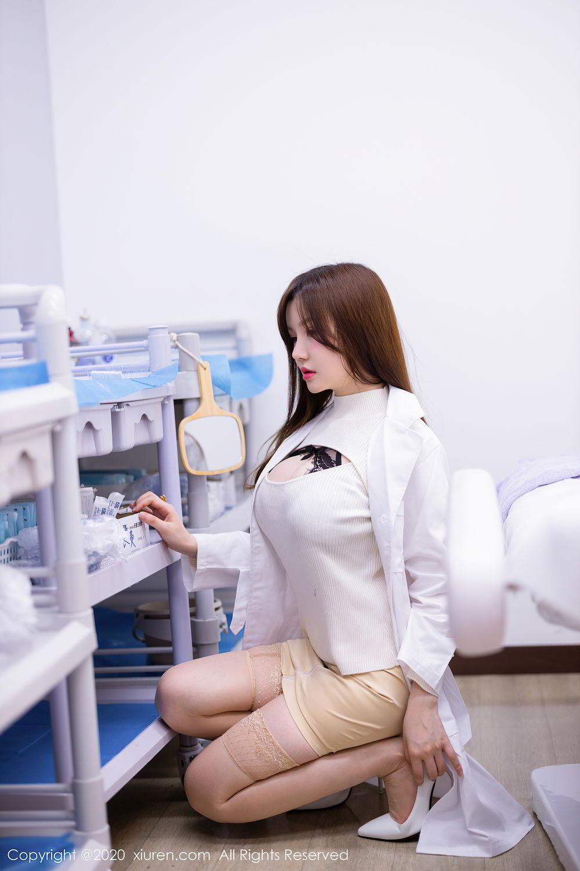 [XiuRen] Vol.2434 Nuo Mei Zi 1P, Mini Da Meng Meng, Underwear, Xiuren