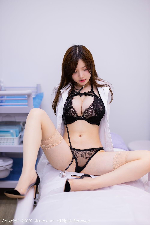 [XiuRen] Vol.2434 Nuo Mei Zi 6P, Mini Da Meng Meng, Underwear, Xiuren