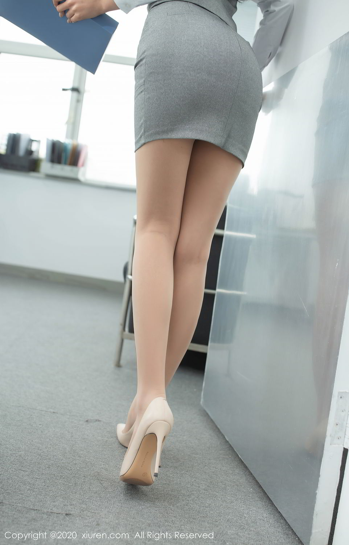 [XiuRen] Vol.2435 Chen Xiao Miao 10P, Chen Xiao Miao, Underwear, Uniform, Xiuren