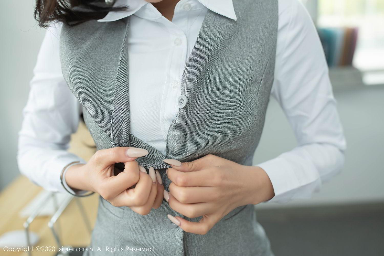 [XiuRen] Vol.2435 Chen Xiao Miao 16P, Chen Xiao Miao, Underwear, Uniform, Xiuren