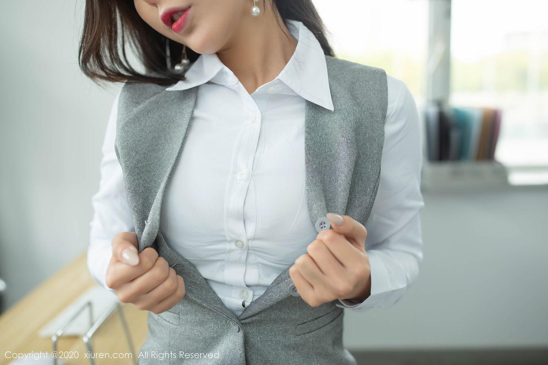 [XiuRen] Vol.2435 Chen Xiao Miao 17P, Chen Xiao Miao, Underwear, Uniform, Xiuren