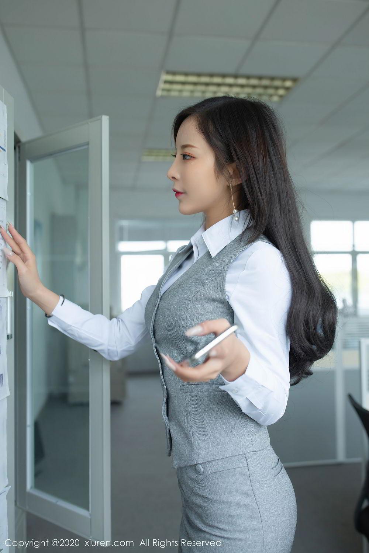 [XiuRen] Vol.2435 Chen Xiao Miao 23P, Chen Xiao Miao, Underwear, Uniform, Xiuren