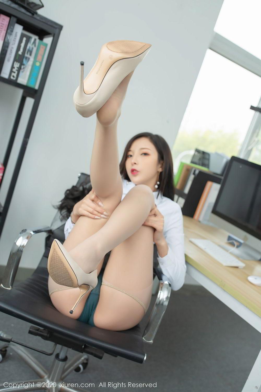[XiuRen] Vol.2435 Chen Xiao Miao 24P, Chen Xiao Miao, Underwear, Uniform, Xiuren