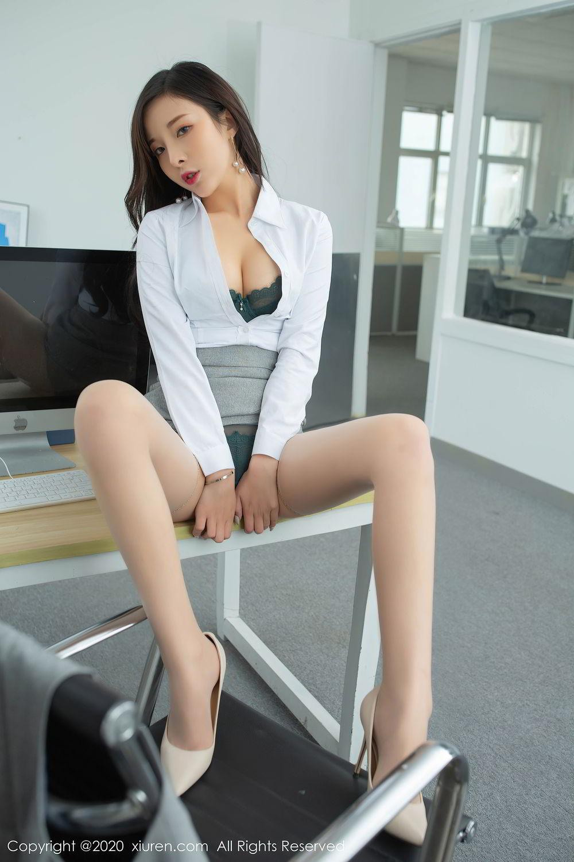 [XiuRen] Vol.2435 Chen Xiao Miao 27P, Chen Xiao Miao, Underwear, Uniform, Xiuren