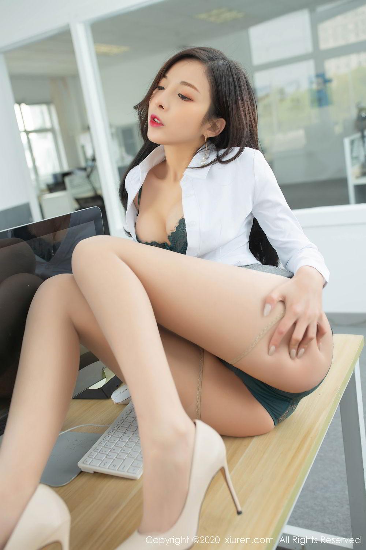 [XiuRen] Vol.2435 Chen Xiao Miao 29P, Chen Xiao Miao, Underwear, Uniform, Xiuren