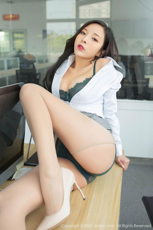 [XiuRen] Vol.2435 Chen Xiao Miao 31P, Chen Xiao Miao, Underwear, Uniform, Xiuren