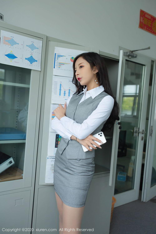 [XiuRen] Vol.2435 Chen Xiao Miao 34P, Chen Xiao Miao, Underwear, Uniform, Xiuren