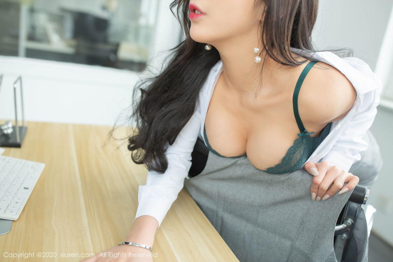 [XiuRen] Vol.2435 Chen Xiao Miao 35P, Chen Xiao Miao, Underwear, Uniform, Xiuren