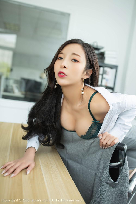 [XiuRen] Vol.2435 Chen Xiao Miao 36P, Chen Xiao Miao, Underwear, Uniform, Xiuren