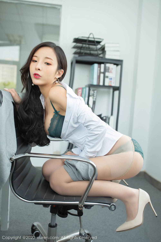[XiuRen] Vol.2435 Chen Xiao Miao 38P, Chen Xiao Miao, Underwear, Uniform, Xiuren