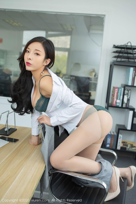 [XiuRen] Vol.2435 Chen Xiao Miao 39P, Chen Xiao Miao, Underwear, Uniform, Xiuren
