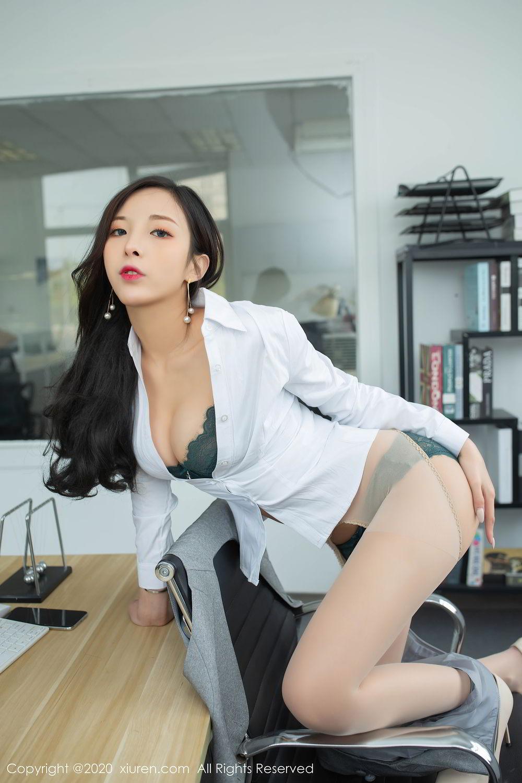[XiuRen] Vol.2435 Chen Xiao Miao 40P, Chen Xiao Miao, Underwear, Uniform, Xiuren