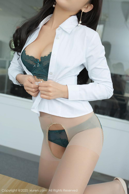 [XiuRen] Vol.2435 Chen Xiao Miao 41P, Chen Xiao Miao, Underwear, Uniform, Xiuren