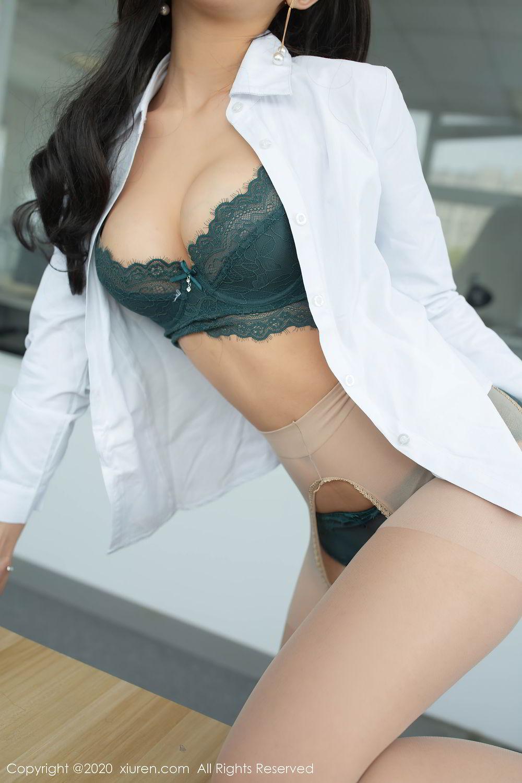 [XiuRen] Vol.2435 Chen Xiao Miao 42P, Chen Xiao Miao, Underwear, Uniform, Xiuren