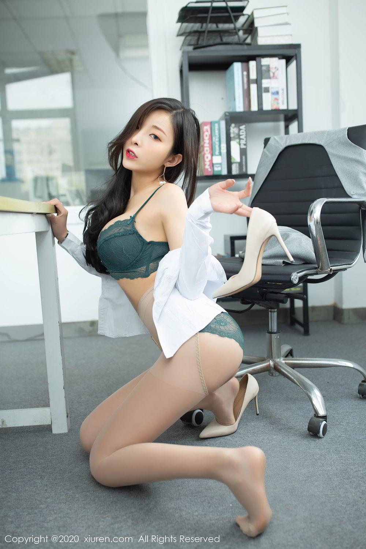 [XiuRen] Vol.2435 Chen Xiao Miao 46P, Chen Xiao Miao, Underwear, Uniform, Xiuren