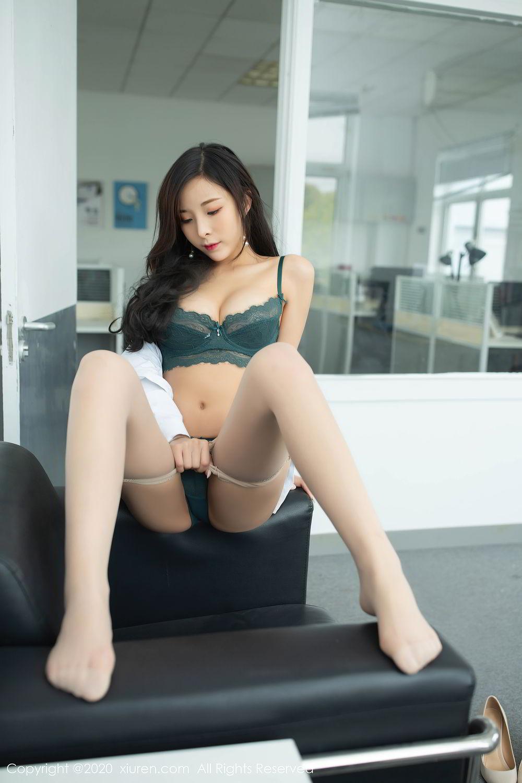 [XiuRen] Vol.2435 Chen Xiao Miao 49P, Chen Xiao Miao, Underwear, Uniform, Xiuren