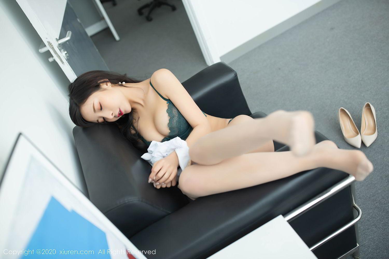 [XiuRen] Vol.2435 Chen Xiao Miao 54P, Chen Xiao Miao, Underwear, Uniform, Xiuren