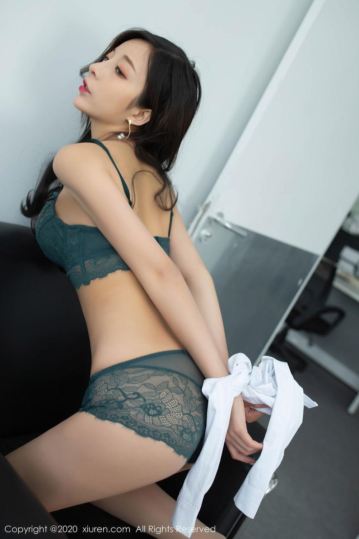 [XiuRen] Vol.2435 Chen Xiao Miao 61P, Chen Xiao Miao, Underwear, Uniform, Xiuren