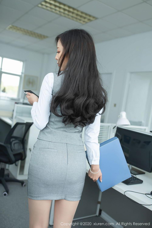 [XiuRen] Vol.2435 Chen Xiao Miao 76P, Chen Xiao Miao, Underwear, Uniform, Xiuren