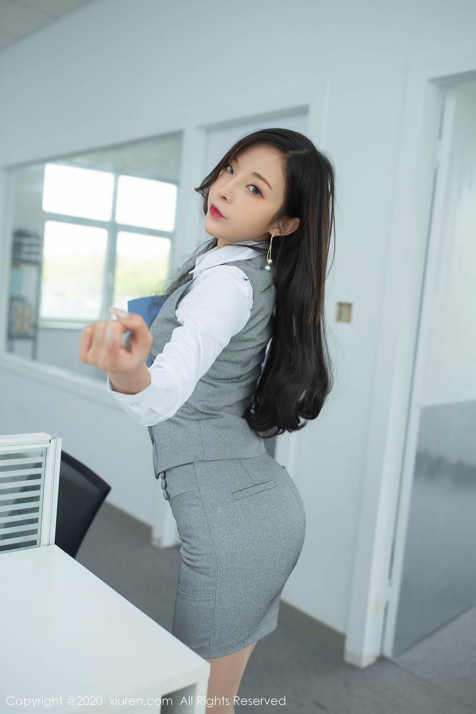 [XiuRen] Vol.2435 Chen Xiao Miao 8P, Chen Xiao Miao, Underwear, Uniform, Xiuren