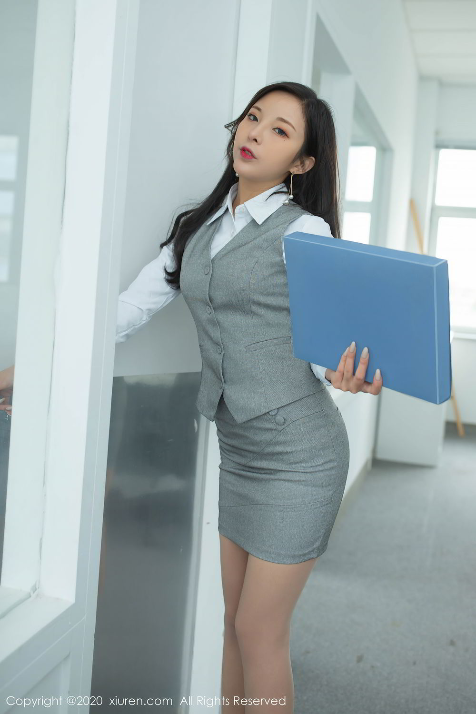 [XiuRen] Vol.2435 Chen Xiao Miao 9P, Chen Xiao Miao, Underwear, Uniform, Xiuren