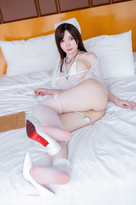 [XiuRen] Vol.2440 Nuo Mei Zi 18P, Mini Da Meng Meng, Nurse, Xiuren