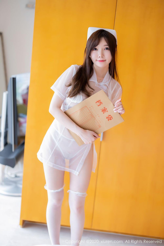 [XiuRen] Vol.2440 Nuo Mei Zi 39P, Mini Da Meng Meng, Nurse, Xiuren