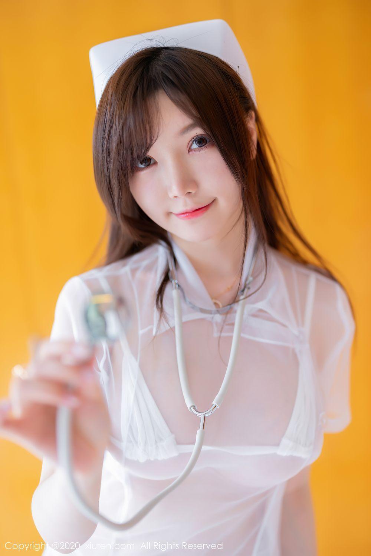 [XiuRen] Vol.2440 Nuo Mei Zi 41P, Mini Da Meng Meng, Nurse, Xiuren