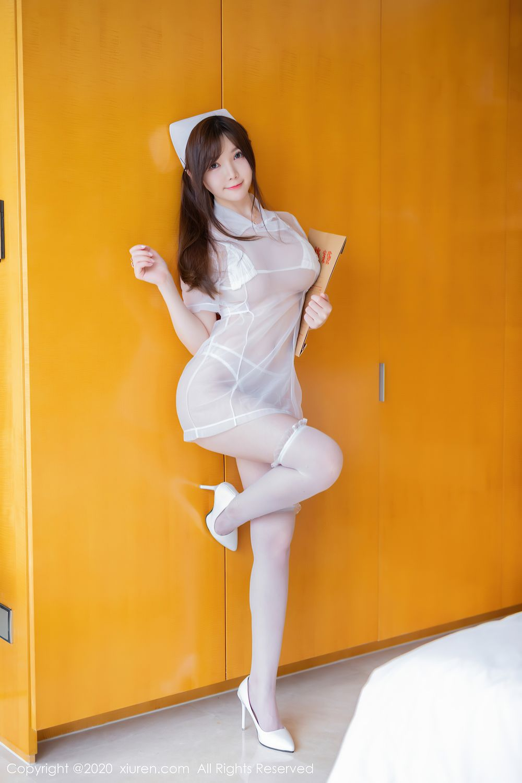 [XiuRen] Vol.2440 Nuo Mei Zi 42P, Mini Da Meng Meng, Nurse, Xiuren
