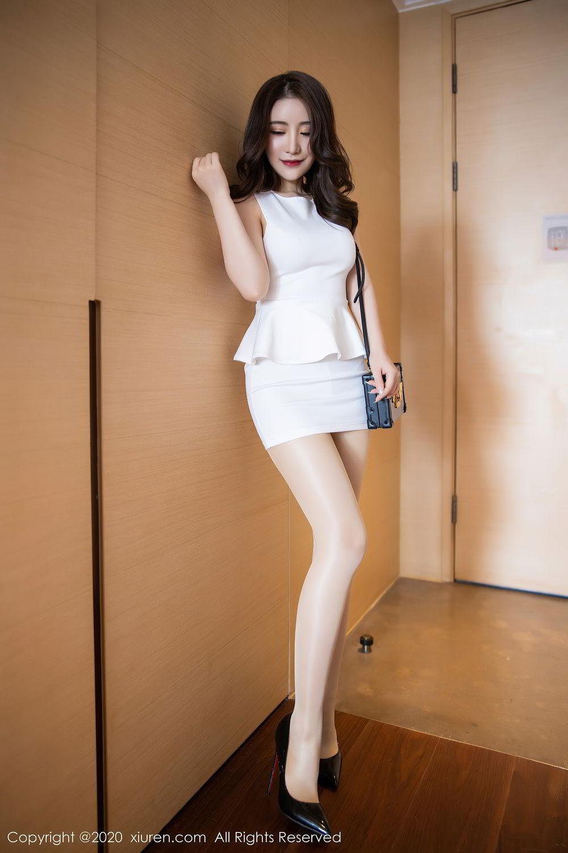 [XiuRen] Vol.2441 Fei Yue Ying 19P, Big Booty, Underwear, Xie Zhi Xin, Xiuren