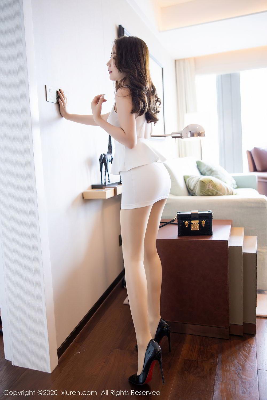 [XiuRen] Vol.2441 Fei Yue Ying 23P, Big Booty, Underwear, Xie Zhi Xin, Xiuren