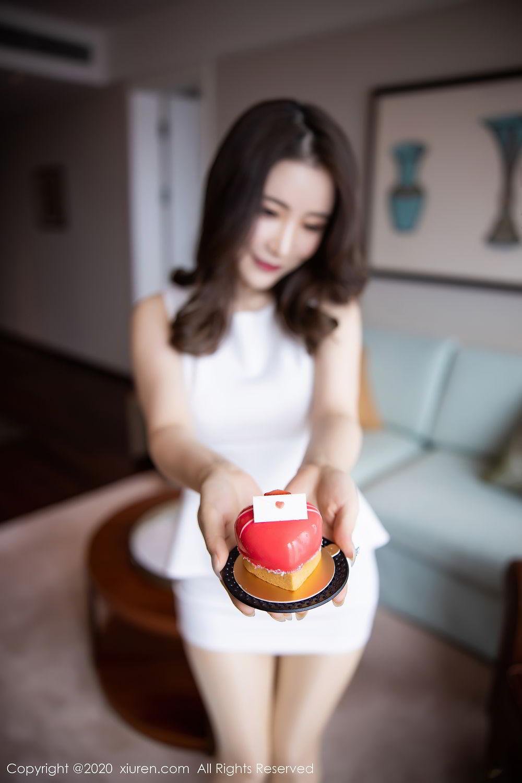 [XiuRen] Vol.2441 Fei Yue Ying 28P, Big Booty, Underwear, Xie Zhi Xin, Xiuren