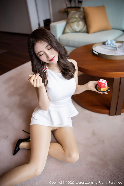 [XiuRen] Vol.2441 Fei Yue Ying 43P, Big Booty, Underwear, Xie Zhi Xin, Xiuren