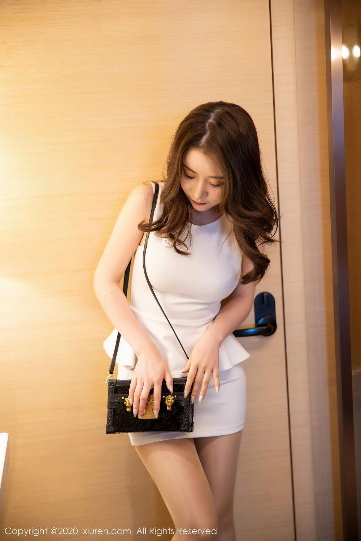 [XiuRen] Vol.2441 Fei Yue Ying 44P, Big Booty, Underwear, Xie Zhi Xin, Xiuren