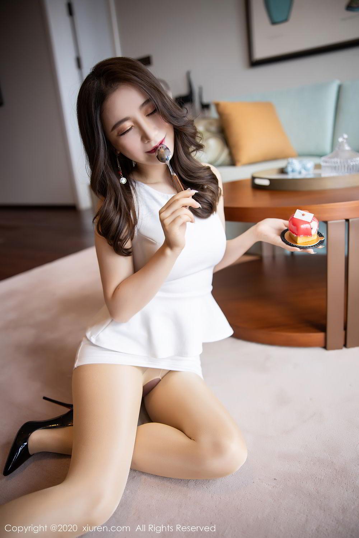 [XiuRen] Vol.2441 Fei Yue Ying 45P, Big Booty, Underwear, Xie Zhi Xin, Xiuren