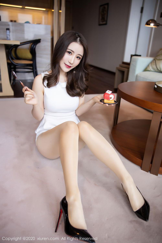[XiuRen] Vol.2441 Fei Yue Ying 47P, Big Booty, Underwear, Xie Zhi Xin, Xiuren