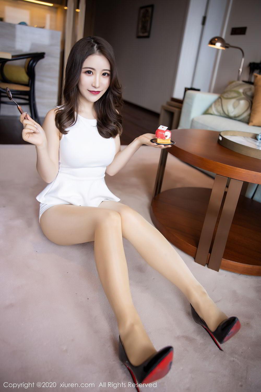 [XiuRen] Vol.2441 Fei Yue Ying 48P, Big Booty, Underwear, Xie Zhi Xin, Xiuren