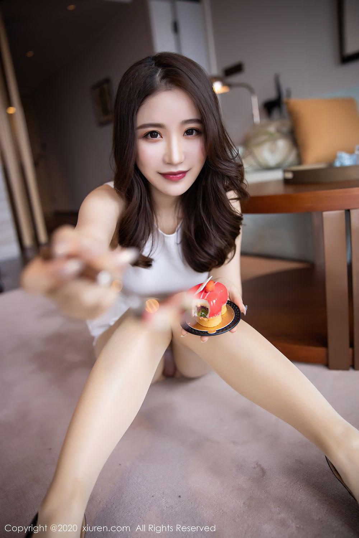 [XiuRen] Vol.2441 Fei Yue Ying 53P, Big Booty, Underwear, Xie Zhi Xin, Xiuren