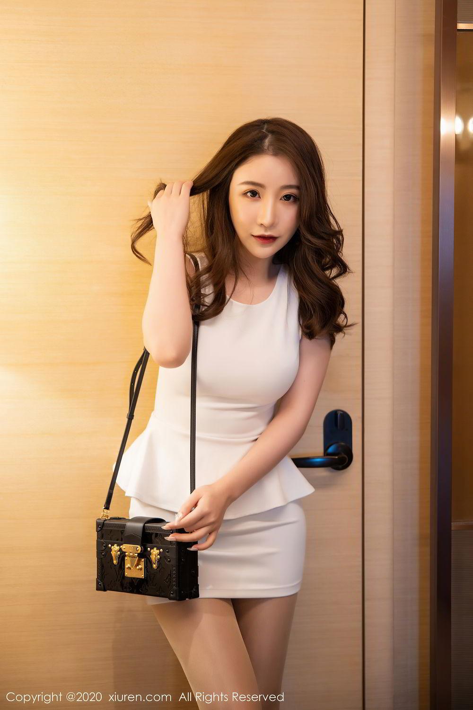 [XiuRen] Vol.2441 Fei Yue Ying 55P, Big Booty, Underwear, Xie Zhi Xin, Xiuren