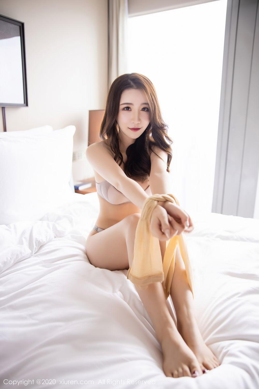 [XiuRen] Vol.2441 Fei Yue Ying 6P, Big Booty, Underwear, Xie Zhi Xin, Xiuren