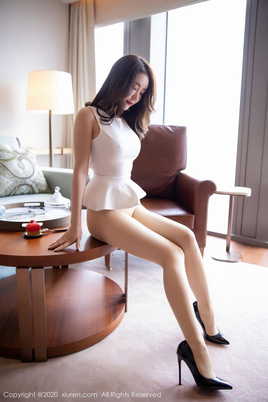 [XiuRen] Vol.2441 Fei Yue Ying 75P, Big Booty, Underwear, Xie Zhi Xin, Xiuren