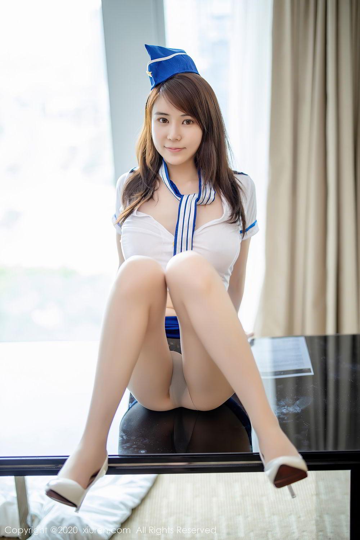 [XiuRen] Vol.2448 Nei Nei 21P, nei nei, Stewardess, Underwear, Xiuren