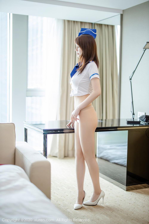 [XiuRen] Vol.2448 Nei Nei 29P, nei nei, Stewardess, Underwear, Xiuren