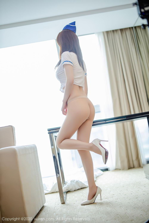 [XiuRen] Vol.2448 Nei Nei 30P, nei nei, Stewardess, Underwear, Xiuren