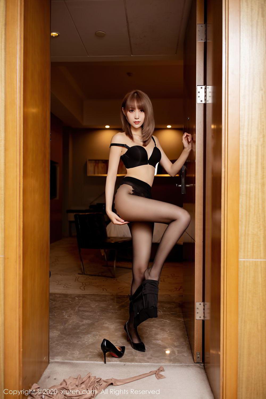 [XiuRen] Vol.2462 Zhou Mu Xi 26P, Black Silk, Slim, Xiuren, Zhou Mu Xi