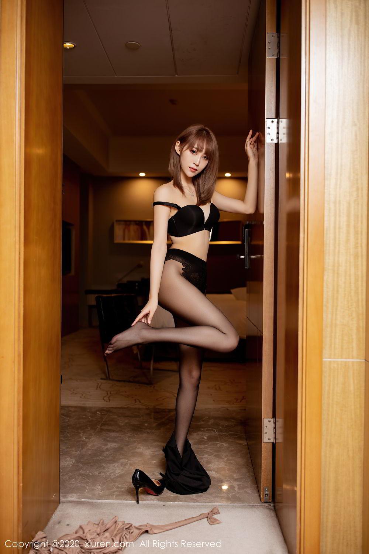 [XiuRen] Vol.2462 Zhou Mu Xi 27P, Black Silk, Slim, Xiuren, Zhou Mu Xi
