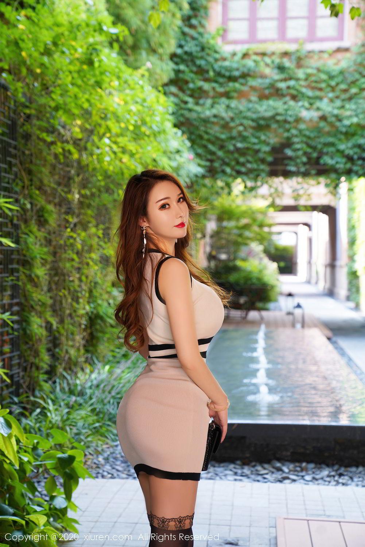 [XiuRen] Vol.2465 Egg Younisi 1P, Egg Younisi, Mature, Underwear, Uniform, Xiuren