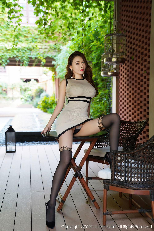 [XiuRen] Vol.2465 Egg Younisi 2P, Egg Younisi, Mature, Underwear, Uniform, Xiuren